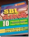 SBI Clerk previous year solved papers book review,download previous year sbi clerk exam papers