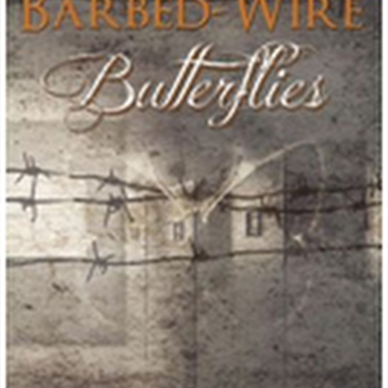 Orangeberry Book of the Day - Barbed-Wire Butterflies by Jessica Kristie