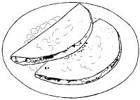 quesadillas -Pina