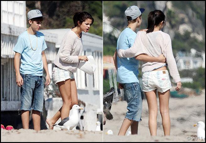 Justin Bieber e Selena Gomez 2