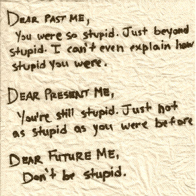 dear future me quotes