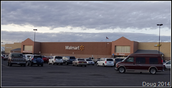 Walmart in Deming, New Mexico
