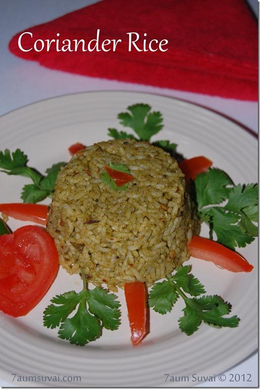 Coriander rice Pic2