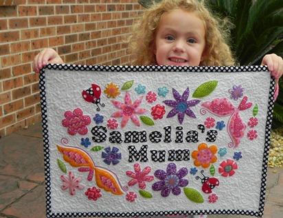 Samelia's Mum Mini Quilt