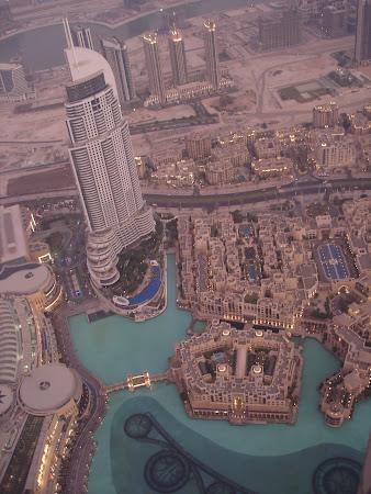 Dubai vazut din turn