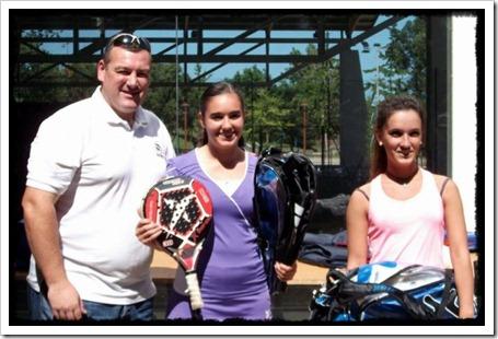 La jugadora de Drop Shot, Marina del Río gana la 6ª prueba del Circuito Cántabro de Menores.