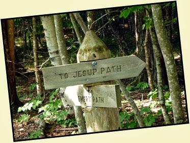 01a - Jesup Path - Trail Sign