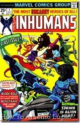 P00003 - Inhumans v1 #1