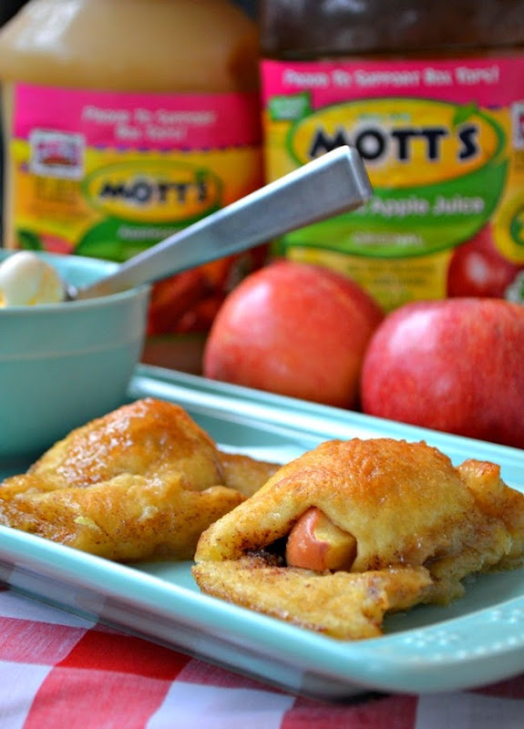 Apple Roll-Up Dessert - an easy recipe with the #FlavorofFall