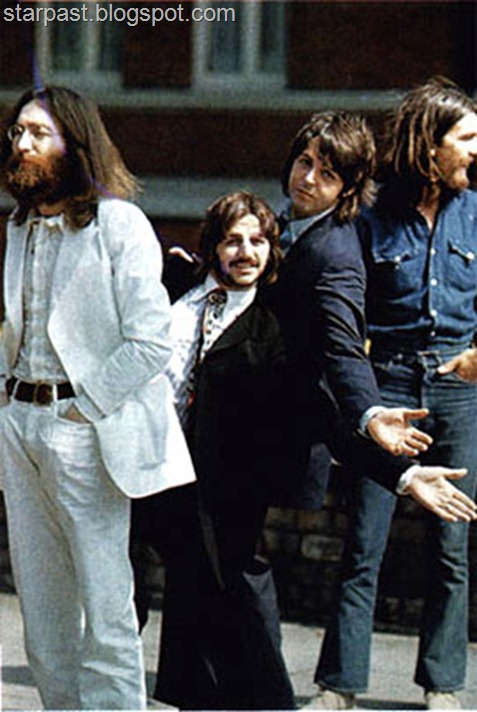 The Beatles' Abbey Road Photo Shoot Outtakes (8)