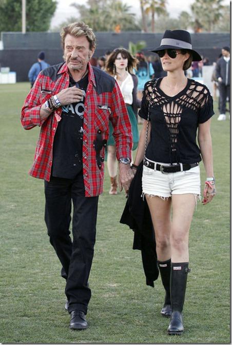 French singer actor Johnny Hallyday seen enjoying DtQntu8asd3l