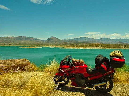 Kawasaki at Roosevelt Lake