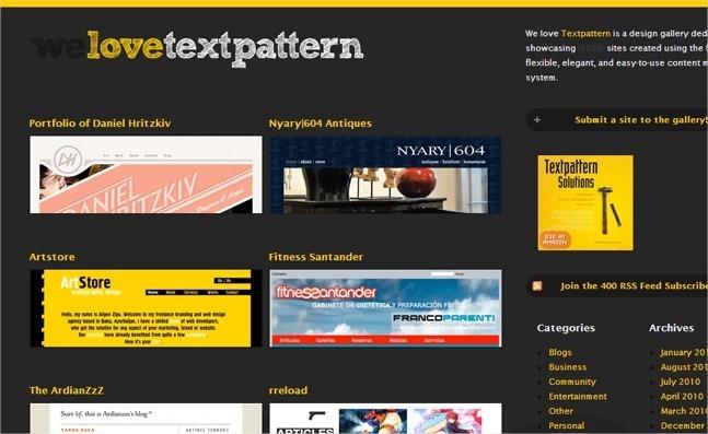 13 galerías web sobre CSS para encontrar inspiración 8