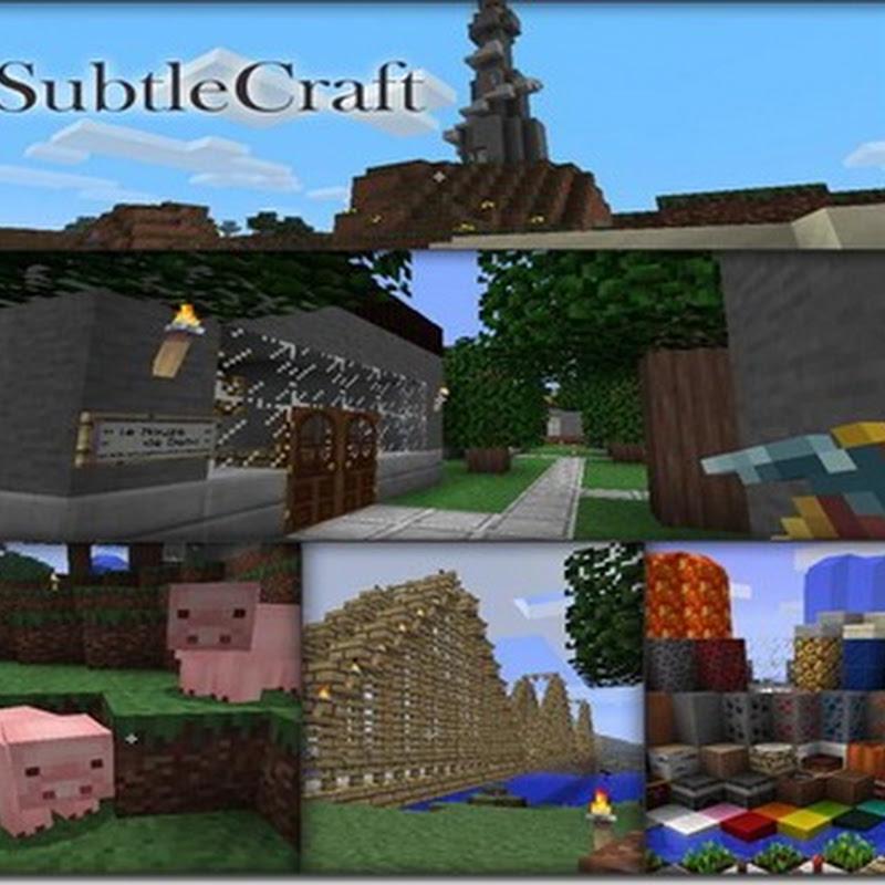 Minecraft 1.2.5–SubtleCraft texture pack
