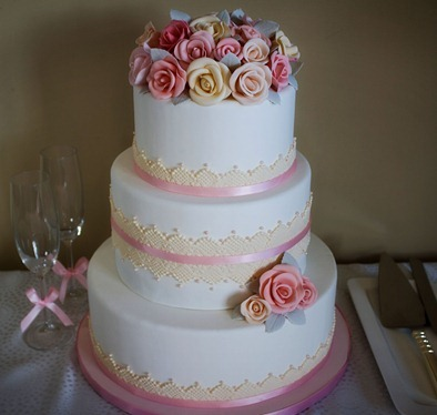 Sugar Rose Wedding CakePHTSP1