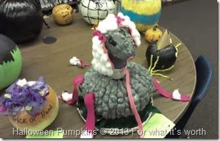 poodle Halloween pumpkin