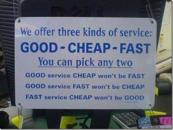 service triangle