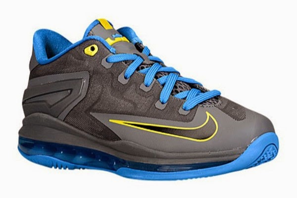 Nike LeBron 11 GS Black  Photo Blue  Tour Yellow Available