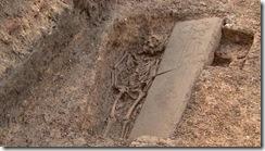Medieval knight found