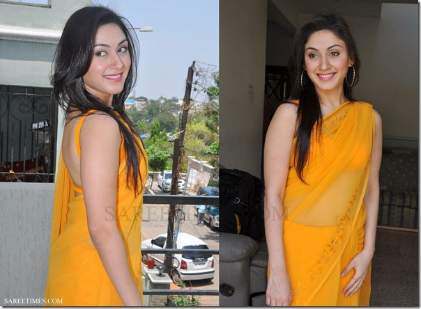 Manjari_Phadnis_Yellow_Saree