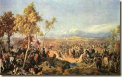 Bataille de Winkovo-Taroutino, par Piter von Hess   18 octobre 1812