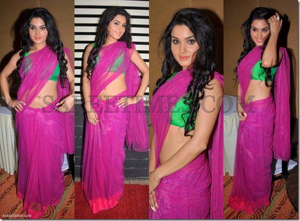 Kavya_Singh_Pink_Saree