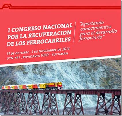 Primer Congreso Recuperacion Ferrocarriles