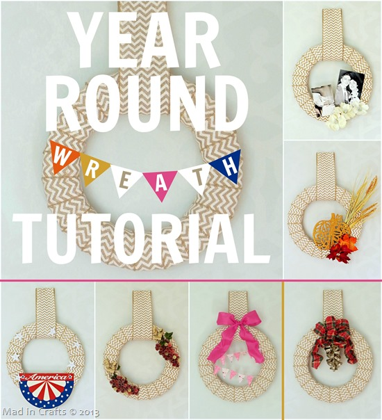 Year Round Wreath Tutorial