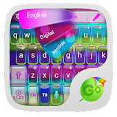 APK App Dream Colors Go Keyboard Theme for BB, BlackBerry