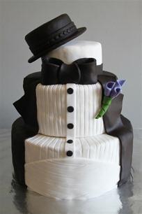 Tuxedo Groom's Cake (1)