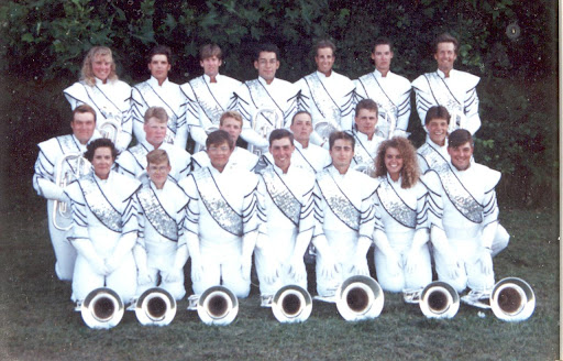 The 1991 Phantom Regiment Baritone/Euphonium section.