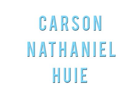 Carson's Name