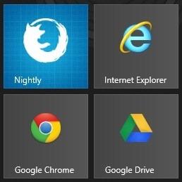 Firefox Nightly Metro UI Windows 8