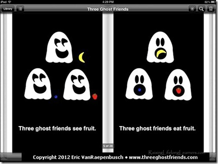 Three Ghost Friends Learn About Colors2