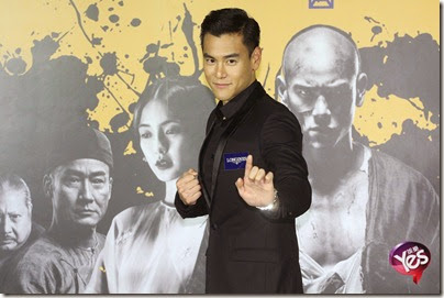 2014.11.26 Eddie Peng during Rise of the Legend - 彭于晏 黃飛鴻之英雄有夢 台北 10