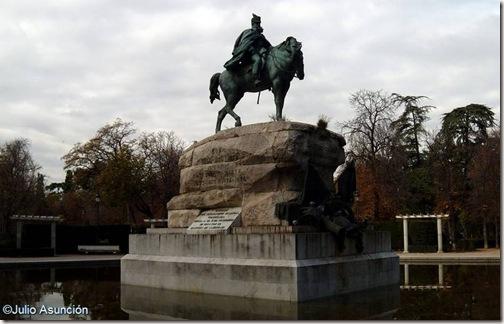 Monumento  a Martínez Campos - Madrid