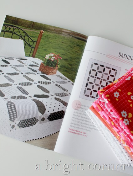 Dashing quilt pattern