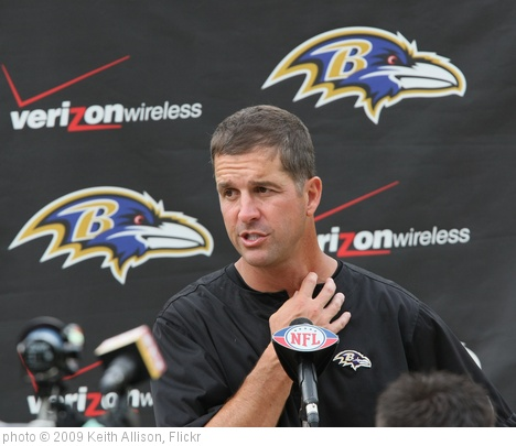 'John Harbaugh' photo (c) 2009, Keith Allison - license: http://creativecommons.org/licenses/by-sa/2.0/