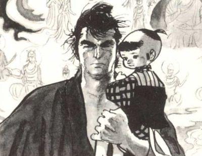 Lobo Solitário e Filhote