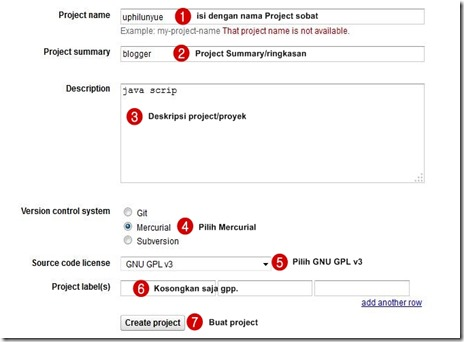 google project file
