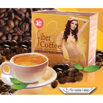 กาแฟสลิม กาแฟไฟเบอร์ (Fiber coffee P5) กาแฟลดน้ำหนัก ของพรปิยะ P5