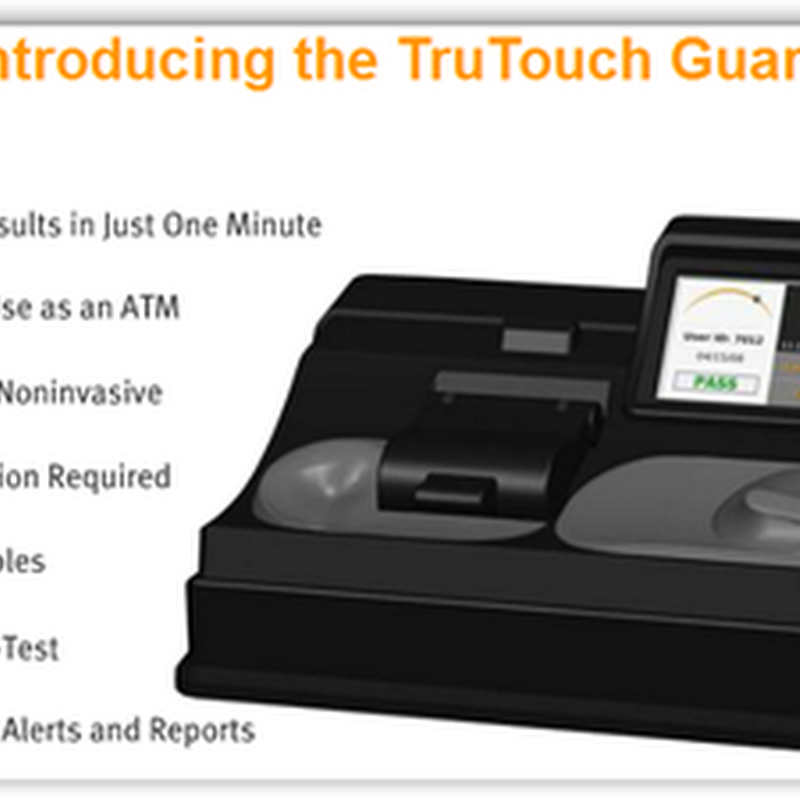 TruTouch Technologies Receives US Patent For Non-Invasive Alcohol Detection Device