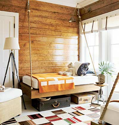 Rustic without being kitschy. (myhomeideas.com)