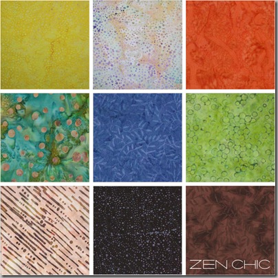 Fabric choice for the modern quilter