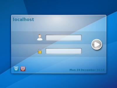 KDM su KDE