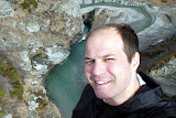 Self Portrait at Shotover River - Skippers Canyon, New Zealand