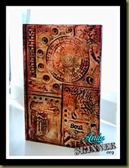 Andy Skinner Altered Notebook