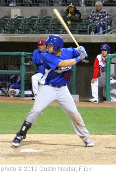 'Joc Pederson hitting - June 5, 2012' photo (c) 2012, Dustin Nosler - license: http://creativecommons.org/licenses/by/2.0/