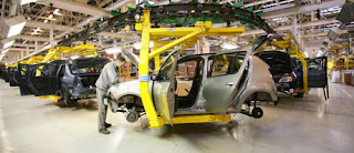 Inauguration de l'usine Renault en Algérie le 10 avec Fabius, Macron et Ghosn
