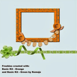 Romajo - Basic Orange and Basic Green Freebies